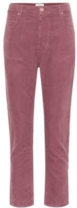 Etoile Isabel Marant Neav cropped corduroy pants