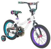 "Monster High 16"" Kids' Bike - White/Purple"