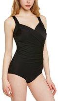Miraclesuit Women's Sanibel Plain Swimsuit,2