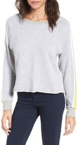 Splendid Women's Rugby Stripe Sweatshirt