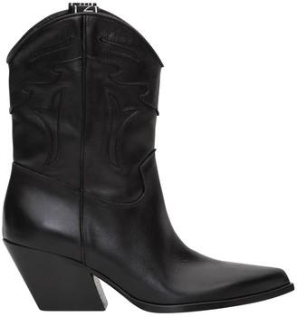 Elena Iachi Texan Leather Boot