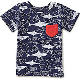Egg by Susan Lazar Baby/Little Boys 12 Months-4T Shane Printed Pocket Tee