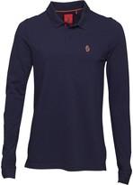 Luke 1977 Mens Williams Long Sleeve Polo Navy