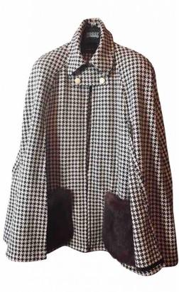 Non Signé / Unsigned Non Signe / Unsigned Manche ballon Fur Jacket for Women