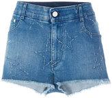 Stella McCartney frayed shorts