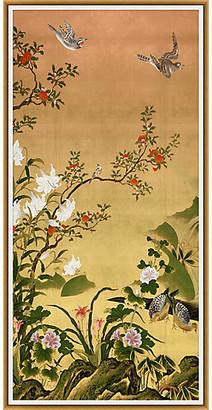 Lillian August - Golden Garden I Art