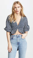 Keepsake Blossom Wrap Top