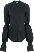 Dondup puff longsleeves blouse - women - Cotton/Spandex/Elastane - 40