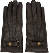 Belstaff Black Leather Heyford Gloves