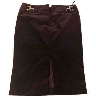 Gucci Purple Velvet Skirt for Women