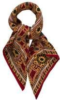 Chanel Gripoix Silk Cashmere Scarf