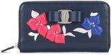 Salvatore Ferragamo floral embroidered wallet