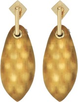Alexis Bittar Lucite Post w/ Back Pave Ball Detail Earrings Earring