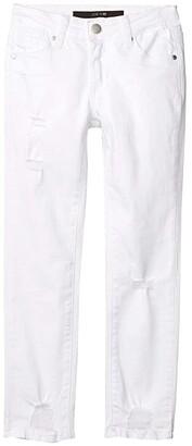Joe's Jeans The Markie Fit in White (Little Kids/Big Kids) (White) Girl's Jeans