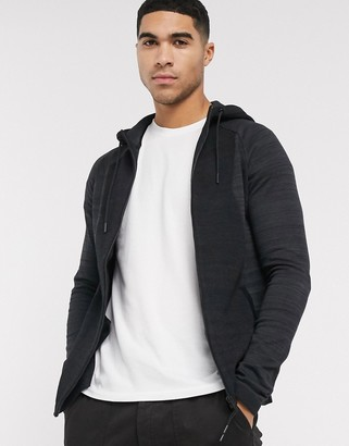 Jack and Jones Core knitted hoodie