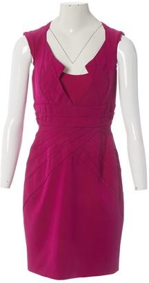Zac Posen Pink Viscose Dresses