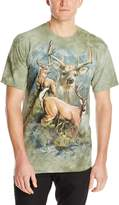 The Mountain Deer Collage T-Shirt, 5X-Large