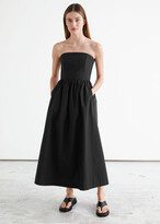 Thumbnail for your product : And other stories Voluminous Bandeau Midi Dress