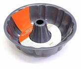 Dexam Non-stick Deep fluted pan with tube, Carbon steel 24.5cm x 8.5cm