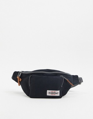 Eastpak bumbag with front pouch in black
