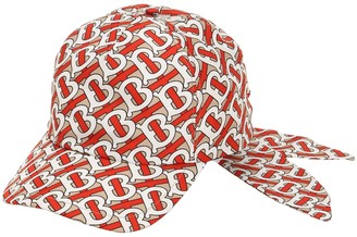 Burberry Tb Monogram Print Baseball Hat