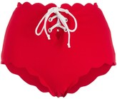 Marysia Swim scallop-hem bikini bottoms