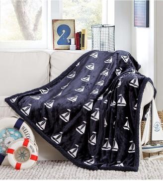 """Coleman Duck River Textile Navy Fleece Throw Blanket - 60"""" x 79"""""""