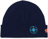 Raf Simons Badge-appliqué beanie hat