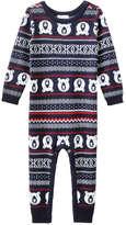 Joe Fresh Baby Boys' Fair Isle Sweater Romper, JF Midnight Blue (Size 12-18)