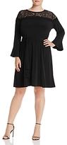 MICHAEL Michael Kors Bell-Sleeve Dress