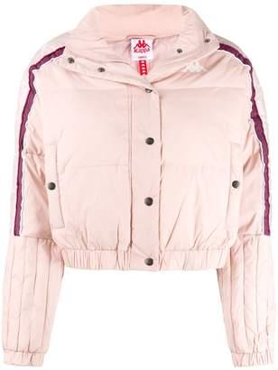 Kappa cropped padded jacket
