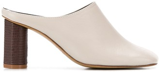 SALONDEJU 80mm Square Toe Sandals
