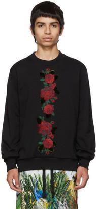 Dolce & Gabbana Black Roses Sweatshirt