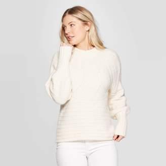 Universal Thread Women's Crewneck Femme Pullover Sweater - Universal ThreadTM
