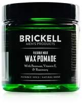 Brickell Flexible Hold Wax Pomade