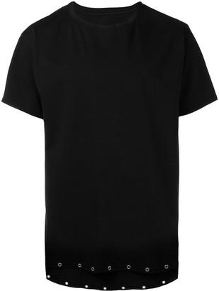 RtA eyelets detail T-shirt