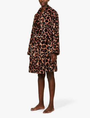 DKNY Animal-print dressing gown
