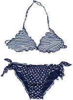 Mc2 Saint Barth Kids - Teen Cris bikini - kids - Polyamide/Spandex/Elastane - 14 yrs