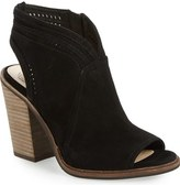 Vince Camuto 'Koral' Perforated Open Toe Bootie (Women) (Nordstrom Exclusive)