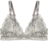 Stella McCartney Bonnie Sizzling lace and satin soft-cup bra