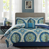 JCPenney Madison Park Essentials Odisha Medallion Complete Bedding Set with Sheets