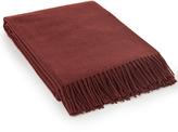 Lexington Company Lexington Classic Wool Throw Rusty Red 130x170cm