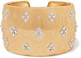 Buccellati 18-karat Gold Diamond Cuff - one size