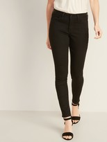 Old Navy Mid-Rise Pop Icon Skinny Black Jeans for Women
