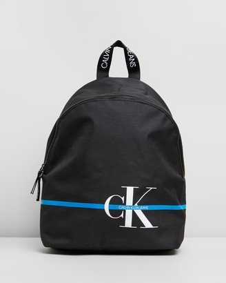 Calvin Klein Jeans Monogram Stripe Backpack 40 - Teens