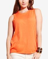 Lauren Ralph Lauren Plus Size Sleeveless Sweater