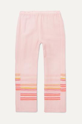 Lemlem Kids Kids - Eskedar Striped Cotton-blend Gauze Pants - Pink