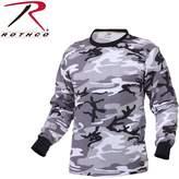 Rothco Long Sleeve Camouflage T-Shirt