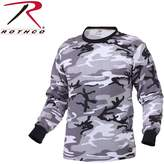 Rothco Mens Camouflage T-Shirt - Long Sleeve