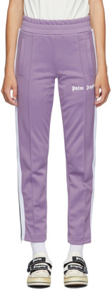 Palm Angels Purple Classic Track Pants